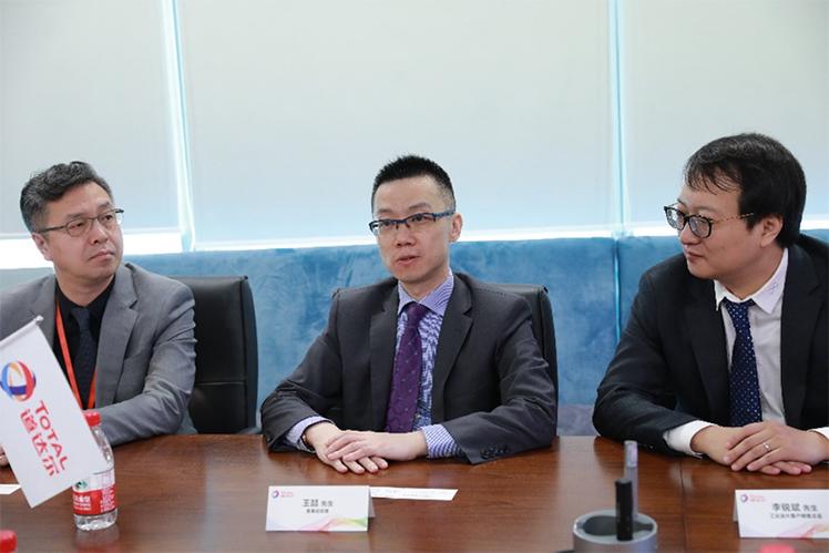 道达尔润滑油中国董事总经理王喆先生发言